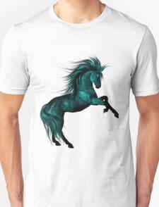 Blue Ice .. Fantasy Horse T-Shirt