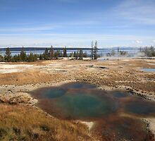 Yellowstone - West Thumb Geyser Basin by Frank Romeo