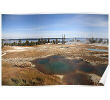 Yellowstone - West Thumb Geyser Basin Poster