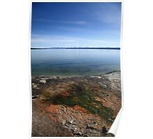 Yellowstone Lake Poster