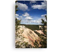 Grand Canyon of Yellowstone Canvas Print