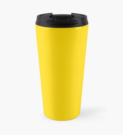 School Bus Yellow  Travel Mug