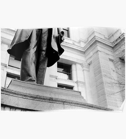 Statue - City Hall - Philadelphia Poster
