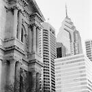 City Hall & Liberty One - Philadelphia by nickchic