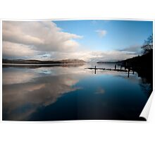 Windermere Reflections Poster