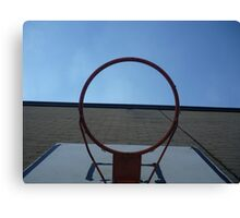 Through the hoop! Canvas Print