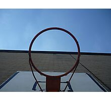 Through the hoop! Photographic Print