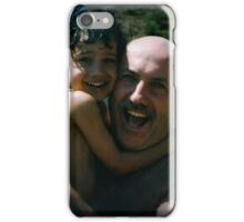 HAPPINESS IS LOVE AND SMILES iPhone Case/Skin