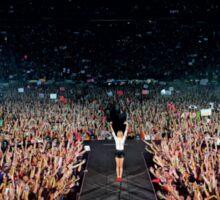 Taylor Swift on stage Sticker