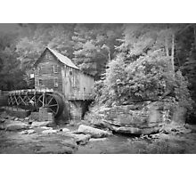 The Glade Creek Grist Mill  Photographic Print