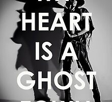 Adam Lambert My Heart Is A Ghost Town by Valeria  Leone