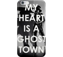 Adam Lambert My Heart Is A Ghost Town iPhone Case/Skin