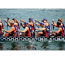 US Dragon Boat Team 2015 Photographic Print
