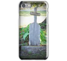 Remember He Was a Fisherman  iPhone Case/Skin