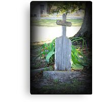 Remember He Was a Fisherman  Canvas Print