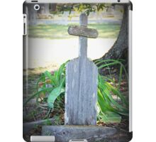 Remember He Was a Fisherman  iPad Case/Skin