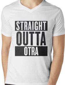 Straight Otta Otra (One Direction) Mens V-Neck T-Shirt