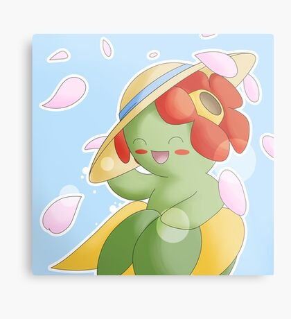 Bellossom in Sun Hat Canvas Print