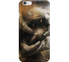 Orangutans Holding Hands iPhone Case/Skin