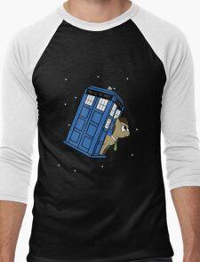 The Doctor and his TARDIS Men's Baseball ¾ T-Shirt
