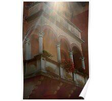 Lovers Balcony Poster