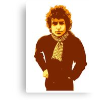 Bob Dylan Blonde on Blonde Canvas Print
