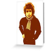 Bob Dylan Blonde on Blonde Greeting Card