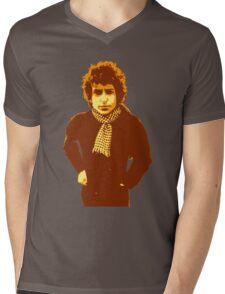 Bob Dylan Blonde on Blonde Mens V-Neck T-Shirt