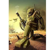 Robot's Dawn Photographic Print