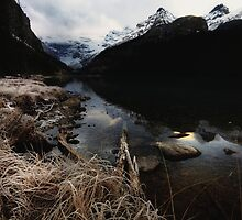 Lake Louise Frost I by EchoNorth