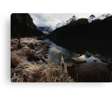 Lake Louise Frost I Canvas Print