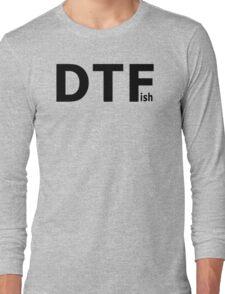 DTFish - Fishing T-shirt Long Sleeve T-Shirt