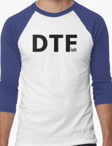 DTFish - Fishing T-shirt Men's Baseball ¾ T-Shirt