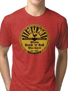 Sun Records T-Shirt Tri-blend T-Shirt