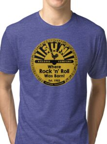 Sun Records T-Shirt Tri-blend T-Shirt