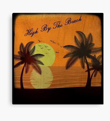 Lana Del Rey - High By The Beach Canvas Print