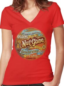 TheSmall Faces T-Shirt Women's Fitted V-Neck T-Shirt