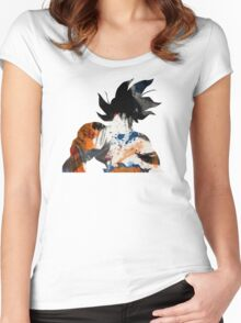 Son Goku Women's Fitted Scoop T-Shirt