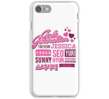 SNSD Girls' Generation Collage iPhone Case/Skin