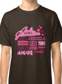 SNSD Girls' Generation Collage Classic T-Shirt