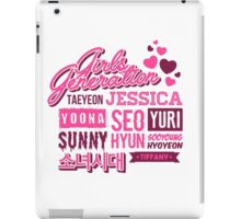 SNSD Girls' Generation Collage iPad Case/Skin