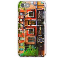 Lower East Side Street Scene iPhone Case/Skin