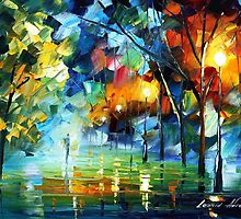 GHOST - Original Art Oil Painting By Leonid Afremov by Leonid  Afremov