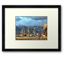 It's Beginning to Look a lot Like... Framed Print