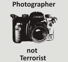 Photographer not Terrorist by Steve Churchill