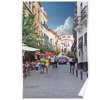 Strolling In Arles Poster