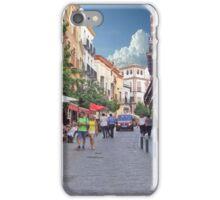Strolling In Arles iPhone Case/Skin