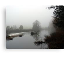 River Mist Canvas Print