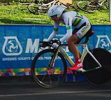 Elite Womens Time Trial by Steven Weeks