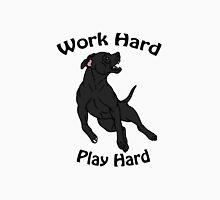 Work Hard, Play Hard - Black Unisex T-Shirt